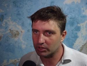 Gilberto Gaúcho, técnico do Corintians-RN (Foto: Jocaff Souza)