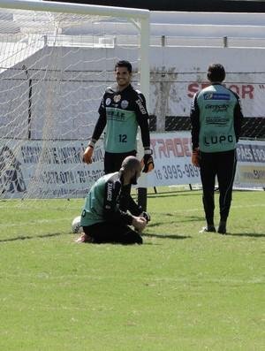 Marcelo Henrique goleiro Comercial (Foto: Gabriel Lopes / Comercial FC)