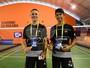 Paranaenses fazem final individual e vencem nas duplas do badminton