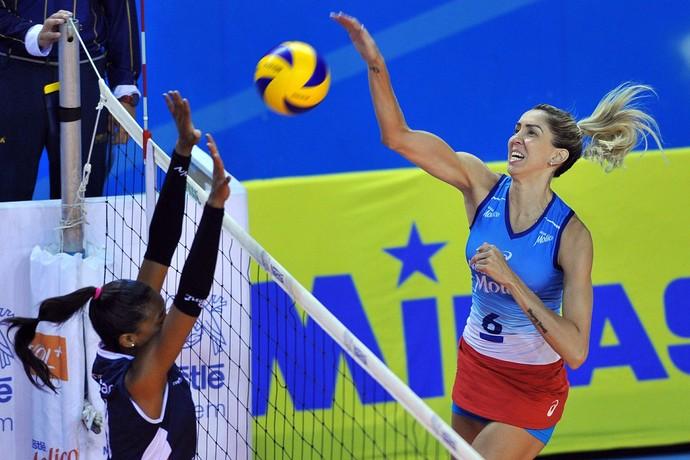 Osasco X San Martin - Sul-Americano de vôlei (Foto: Luiz Pires/Fotojump)