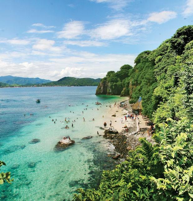 Rincón de Guayabitos, situado na costa do Pacífico mexicano (Foto: CVB Riviera Nayarit/Divulgação)