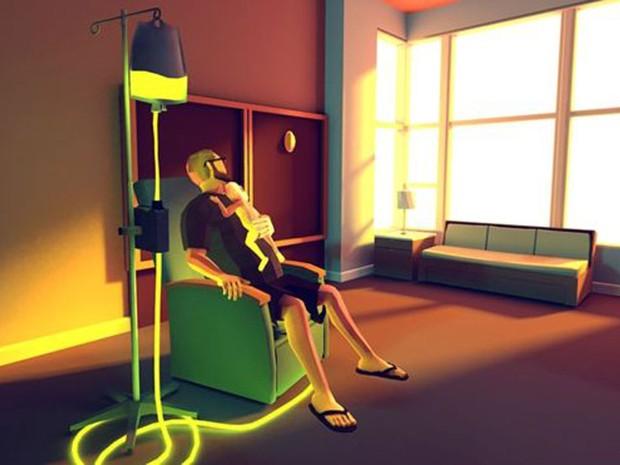 Uma das cenas do jogo 'That Dragon, Cancer' (Foto: Reprodução)
