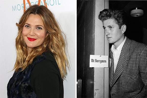 Drew Barrymore e John Drew Barrymore (Foto: Getty Images)