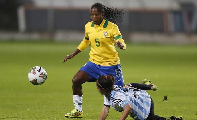 Formiga volante seleção feminina Copa América (Foto: Rafael Ribeiro / CBF)