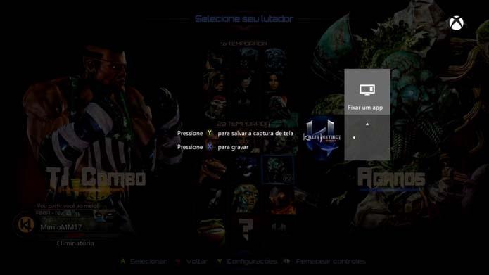 Xbox One: conheça funções e truques do console (Foto: Reprodução/Murilo Molina)