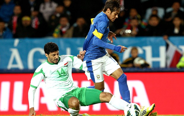 Neymar amistoso Brasil x Iraque (Foto: Mowa Press)
