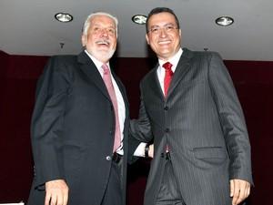 Jaques Wagner e Rui Costa (Foto: Manu Dias / Governo da Bahia)