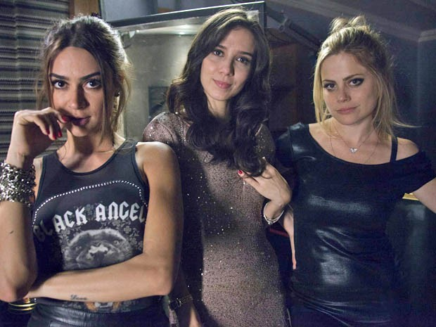Thaila Ayala, Marjorie Estiano e Marisol Ribeiro estrelam 'Apneia' (Foto: Divulgação)