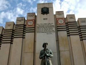 Monumento aos heróis de 32, no Cemitério da Saudade, em Campinas (SP) (Foto: Divulgação/Prefeitura de Campinas)