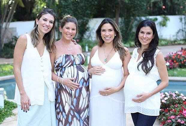 Rebeca, Daniela, Patrícia e Renata Abravanel (Foto: Reprodução/Instagram)