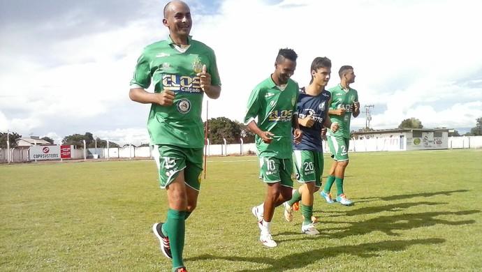 Gurupi treina para estreia no Tocantinense (Foto: Rogério Rodrigues/Divulgação)