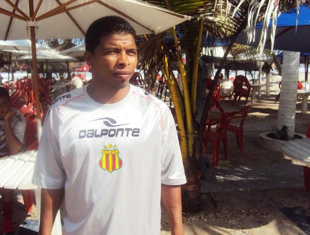 Ley estava no Mixto e foi eliminado pelo Sampaio na Série D 2012 (Foto: Afonso Diniz/Globoesporte.com)