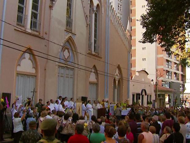 Igreja Nossa Senhora do Carmo passará por reforma em Mogi Mirim (Foto: Reprodução/ EPTV)