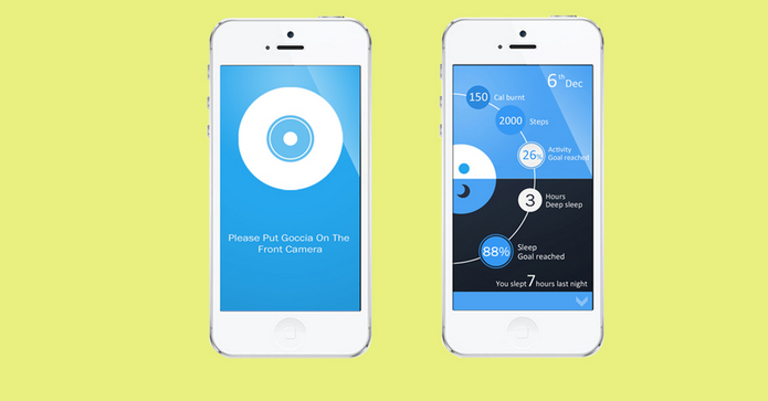 App para iPhone sincroniza informações dos exercícios (Foto: Reprodução/Kickstarter)