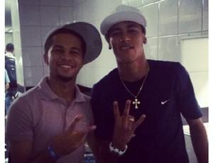 Serginho e Neymar (Foto: reprodução)