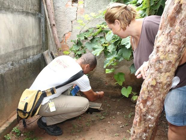 As visitas domiciliares serão intensificadas nos próximos dias em Ipatinga. (Foto: Assessoria / Prefeitura de Ipatinga)