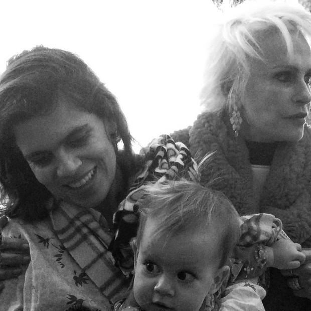 Ana Maria Braga e a filha (Foto: Reprodução/Instagram)