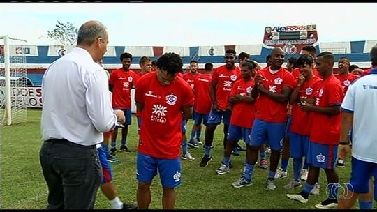 Jogadores do Itumbiara voltam a treinar, mas aguardam pagamento