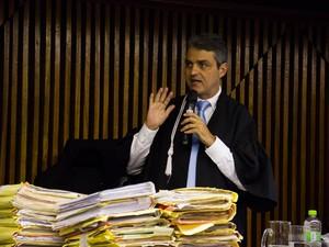 Juiz Mauricio Brêda (Foto: Jonathan Lins/G1)