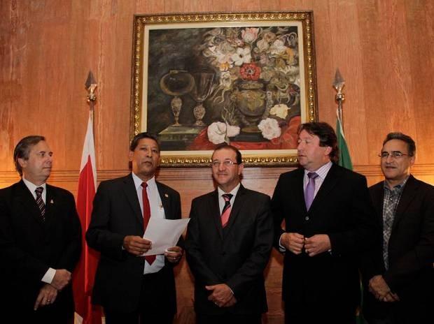 José Francisco tomou posse non gabinete da Assembleia Legislativa do Pará. (Foto: Divulgação/ Alepa)