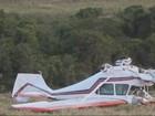 Piloto faz pouso forçado após problema em motor de aeronave