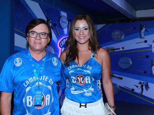 Chitãozinho com a esposa (Foto: Divulgação/ Camarote BOA)