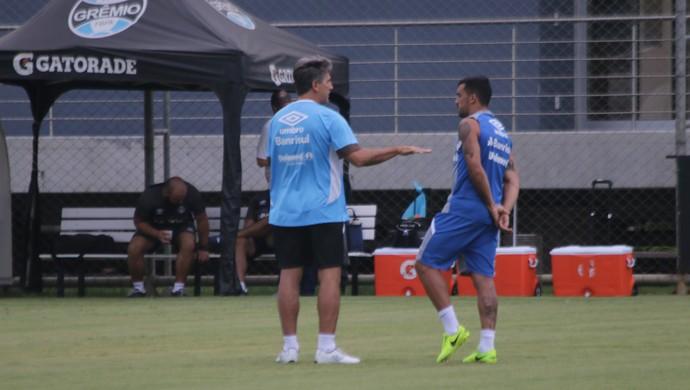 Renato Gaúcho Grêmio Edílson (Foto: Beto Azambuja/GloboEsporte.com)