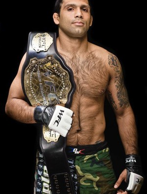 Cláudio Silva MMA Uberlândia (Foto: Divulgação)