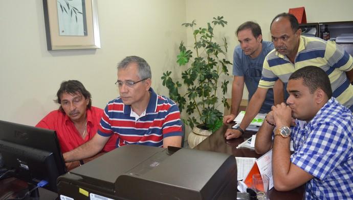 Tabela do Paraibano foi divulgada na noite desta segunda-feira (Foto: Hévilla Wanderley / GloboEsporte.com/pb)