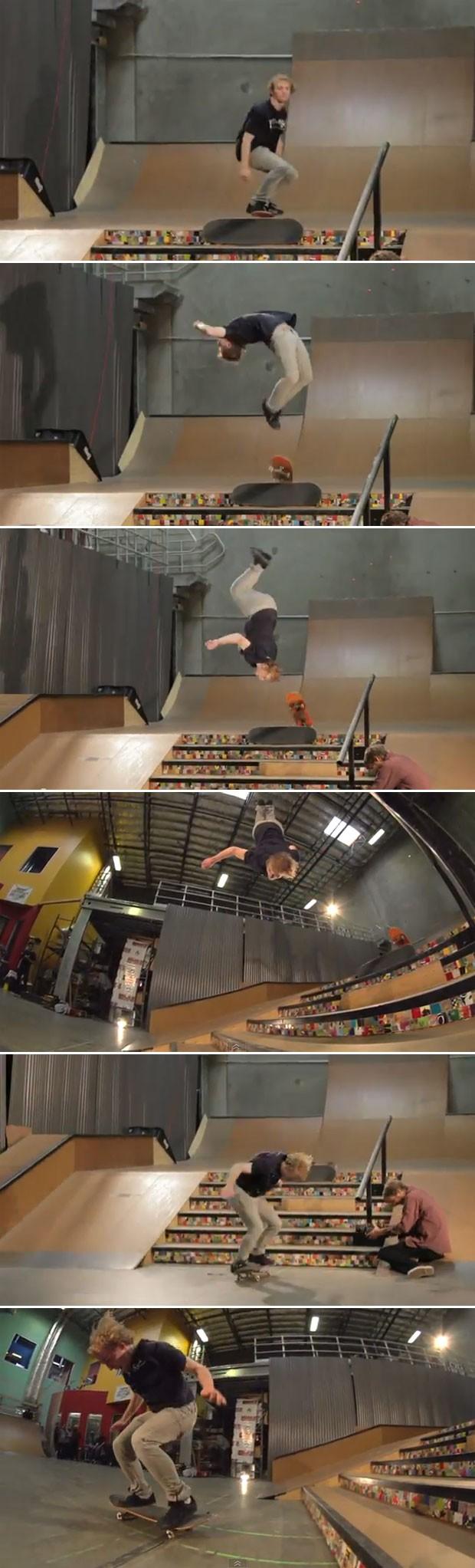 montagem Skate (Foto: Reprodução)