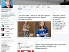 Twitter testa novo layout similar a Facebook e Google+