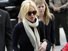 Lindsay Lohan é presa após brigar em casa noturna, diz site