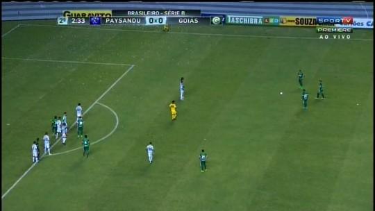 Com gol Aylon, Goiás bate o Paysandu fora de casa e confirma reação na Série B