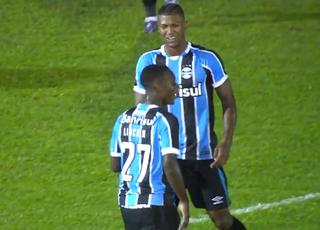 Ypiranga x Grêmio Walace Grêmio (Foto: Reprodução/RBS TV)