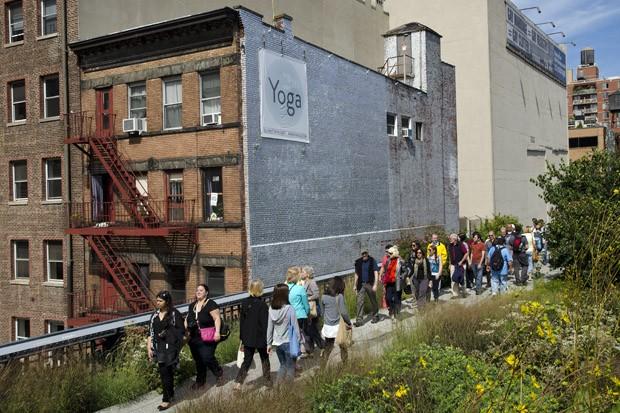 O High Line é a prova concreta que estruturas antigas podem ser reaproveitadas para o lazer da população (Foto:  © Haroldo Castro/Época)