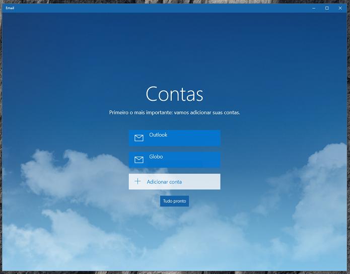 Insira seu e-mail para iniciar (Foto: Reprodução/Thiago Barros)