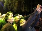 Juliana Paes e elenco de filme fazem 'selfie' no Festival de Gramado