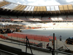 obras estádio Mineirão Copa 2014 (Foto: Tarciso Badaró / Globoesporte.com)