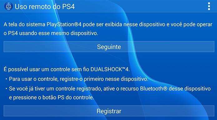 Sincronize o Duashock 4 com o Xperia Z3 (Foto: Reprodução/Renato Carvalho)