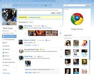 Pacotão: recuperar fotos de perfil excluído no Orkut (Foto: Reprodução/Orkut)