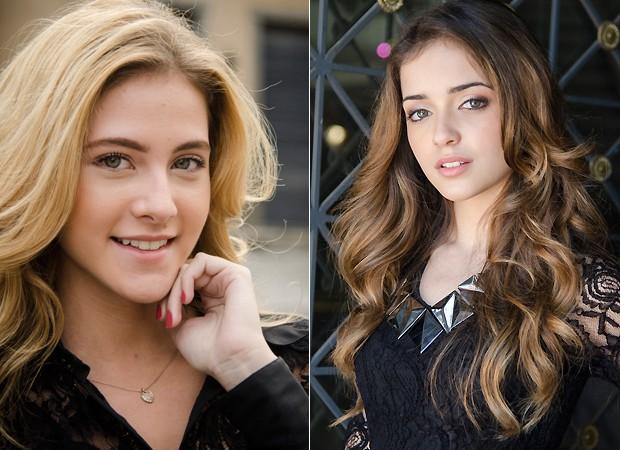 Sofia e Flaviana (Foto: TV Globo/Divulgação)