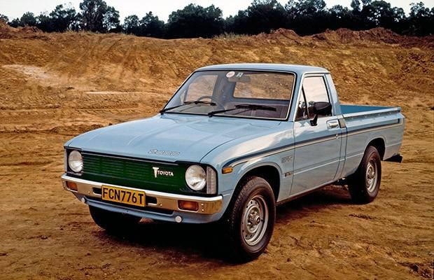 A terceira geração da Hilux foi a primeira a adotar motor diesel e tração 4X4 (Foto: Divulgação)