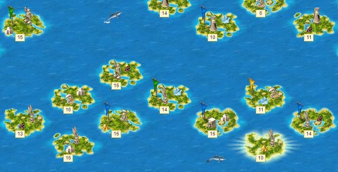 Escolha sua ilha com cuidado antes de colonizar um local (Foto: Divulgação)