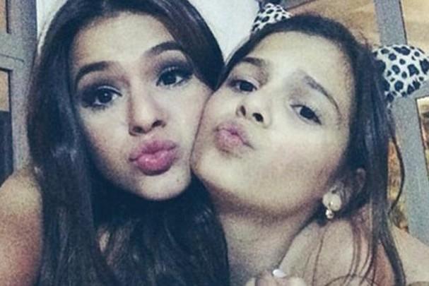 Bruna e Luana Marquezine (Foto: Reprodução)