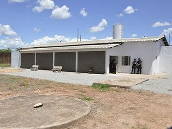 Centro de Custódia de Cuiabá (CCC), em MT. (Foto: Willian Fidelis/Sejudh-MT)