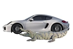 Porsche Cayman (Foto: Autoesporte)