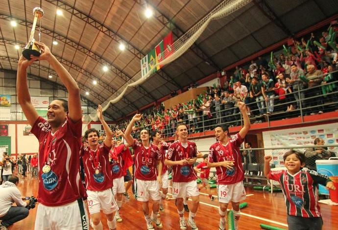 Atlântico Futsal festa (Foto: Prime Comunicação)