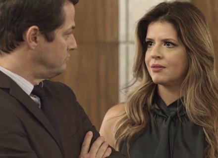 Maria Pia diz que Malagueta tem que se casar com Sabine