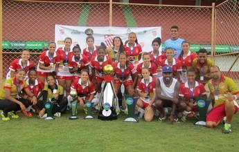 Vila Nova-ES faz 14 a 0 e garante o título do Cariaciquense Feminino 2016