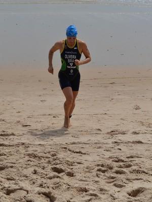 Pâmella Oliveira, triatleta campeã brasileira da modalidade